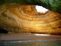 Cueva de la costa Fotos de archivo