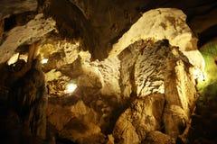 Cueva de la estalactita Fotos de archivo libres de regalías