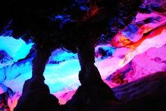 Cueva de la estalactita Fotografía de archivo libre de regalías