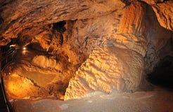 Cueva de la libertad, Eslovaquia de Demanovska Foto de archivo libre de regalías