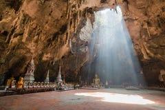Cueva de la luz Foto de archivo libre de regalías