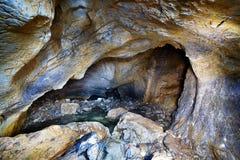 Cueva de la yegua de Coiba en Rumania Fotos de archivo