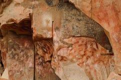 Cueva de las manos Immagini Stock