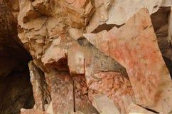 Cueva de las manos Στοκ Εικόνες