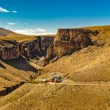 Cueva de Las Manos, Patagonia, Argentinien Lizenzfreie Stockbilder