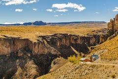 Cueva de Las Manos, Patagonia, Argentinien Lizenzfreies Stockbild