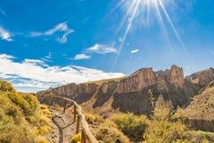 Cueva de Las Manos, Patagonia, Argentinien Stockbilder