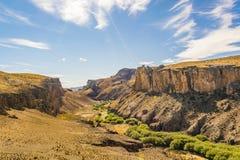 Cueva de Las Manos, Patagonia, Argentinien Lizenzfreie Stockfotos