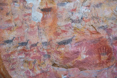Cueva de las Manos Royalty Free Stock Image