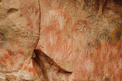 Cueva de las manos Royalty Free Stock Photos