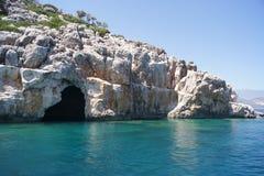 Cueva de los piratas Fotografía de archivo libre de regalías