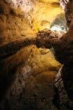 cueva de los verdes Arkivbilder