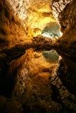 Cueva de los Verdes.Canary, Stock Images