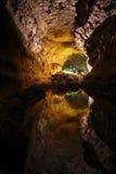 Cueva De Los Verdes Lanzarote Fotografia Stock
