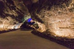 Cueva de los Verdes Royalty Free Stock Images