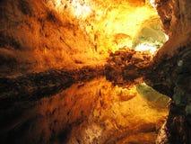 Cueva de los Verdes Stock Photography