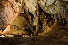 Cueva de mármol Fotos de archivo libres de regalías