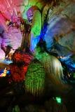 Cueva de múltiples capas hermosa del karst Imagen de archivo