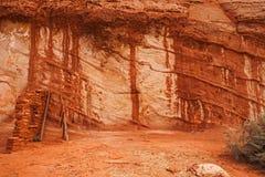 Cueva de Moqui Foto de archivo libre de regalías