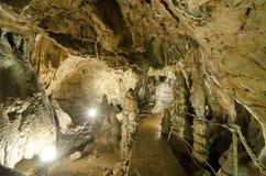 Cueva de Muierilor Foto de archivo libre de regalías