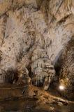 Cueva de Muierilor Fotos de archivo libres de regalías