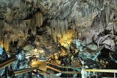 Cueva De Nerja Überspannung Stockbild