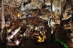 cueva de nerja spännvidd Royaltyfri Fotografi