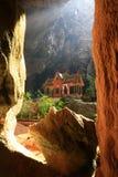 Cueva de Phraya Nakhon Imagenes de archivo