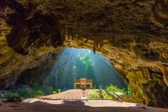 Cueva de Phraya Nakhon Fotos de archivo