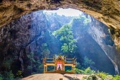 Cueva de Phraya Nakhon Foto de archivo