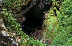 Cueva de Scarisoara Foto de archivo libre de regalías