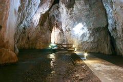 Cueva de Stopica Imágenes de archivo libres de regalías