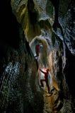 Cueva de Topolnita Imagen de archivo libre de regalías