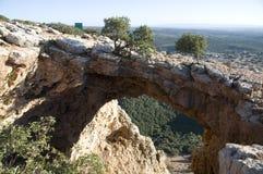 Cueva del arco Foto de archivo libre de regalías