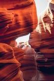 Cueva del barranco más bajo del antílope Arizona, Estados Unidos Imagen de archivo libre de regalías
