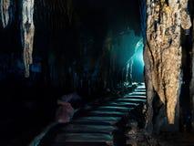 Cueva del compartimiento de Khao, Rachaburi, Tailandia Imágenes de archivo libres de regalías