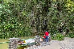 Cueva del Indio, Cuba foto de archivo