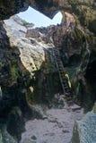 Cueva Del Indio - Indiańska jama, Puerto Rico Obrazy Stock