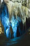Cueva del jade de la nieve, formación de la estalactita de Fengdu China Imágenes de archivo libres de regalías