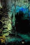 Cueva del karst en Georgia occidental fotos de archivo libres de regalías
