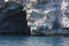 Cueva del mar Imágenes de archivo libres de regalías