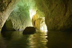 Cueva del mar profundo Fotografía de archivo libre de regalías