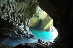 Cueva del nicra de Rosh ha, Israel Imágenes de archivo libres de regalías