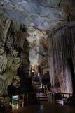 Cueva del paraíso, patrimonio mundial, Phong Nha, Vietnam Imagen de archivo libre de regalías
