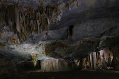 Cueva del paraíso, patrimonio mundial, Phong Nha, Vietnam Imágenes de archivo libres de regalías