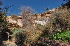 Cueva en Beit Guvrin Israel imágenes de archivo libres de regalías