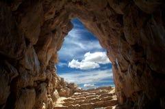 Cueva en Mycenae 2 Foto de archivo libre de regalías