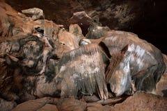 Cueva en Queixo Dantas en el Brasil imagen de archivo