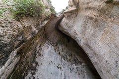Cueva en Syracuse Imagenes de archivo
