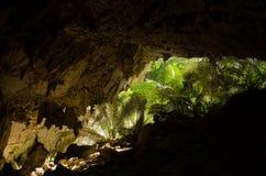 Cueva en Tailandia Foto de archivo libre de regalías